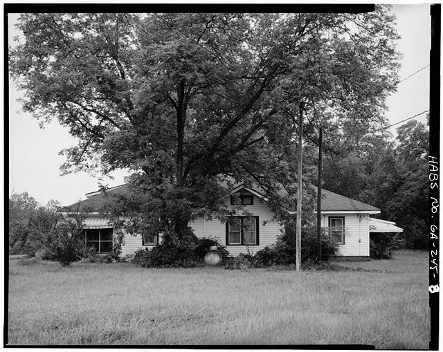 8.  SOUTHEAST SIDE - Jimmy Carter Boyhood Home, Old Plains Highway (Lebanon Cemetery Road), Plains, Sumter County, GA