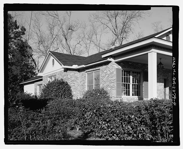 SOUTH SIDE - H. Pat Brannen House, 335 South Main Street, Statesboro, Bulloch County, GA