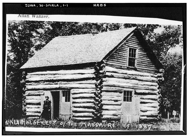 - Rowland Gardner Log Cabin, Monument Street, Arnolds Park Vicinity, Spirit Lake, Dickinson County, IA