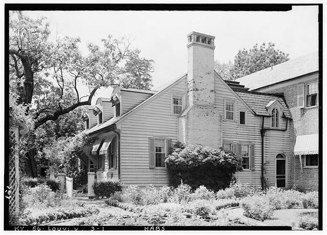 1.  Historic American Buildings Survey Lester Jones, Photographer May 27, 1940 VIEW FROM SOUTHEAST - Oxmoor, Shelbyville Pike, Louisville, Jefferson County, KY
