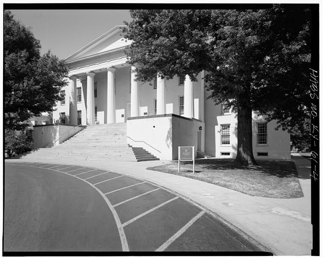 SOUTHEAST VIEW OF 2/3 FACADE ELEVATION - Morrison College, Transylvania University, West Third Street, between Upper Street & Broadway, Lexington, Fayette County, KY