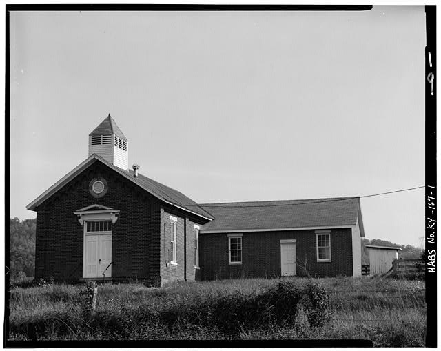 1.  NORTH FRONT - Peter Taylor Chapel, State Route 8, Vanceburg, Lewis County, KY