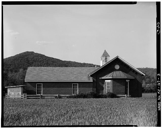 3.  SOUTH SIDE - Peter Taylor Chapel, State Route 8, Vanceburg, Lewis County, KY