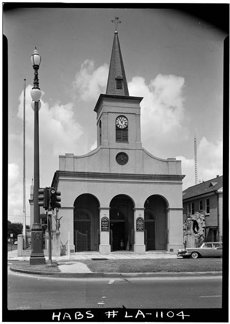 3.  Historic American Buildings Survey Dan Leyrer, Photographer December 1964 RAMPART STREET FACADE - St. Anthony's Chapel, 411 North Ramparti Street, New Orleans, Orleans Parish, LA