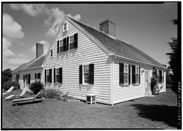 1.  VIEW FROM THE SOUTHEAST - Noah Doane House, Nauset Road, Eastham, Barnstable County, MA