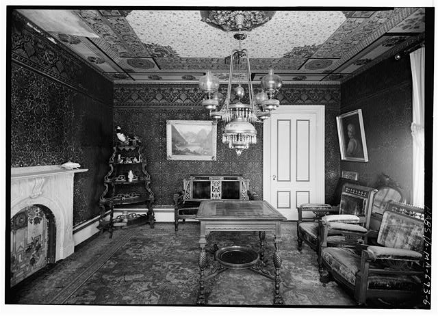 6.  PARLOR, LOOKING SOUTHEAST - Captain Edward Penniman House, Fort Hill Road, Eastham, Barnstable County, MA
