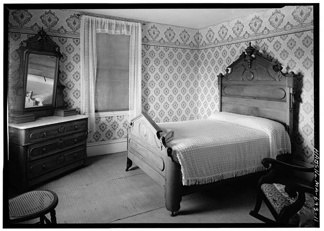 11.  NORTHWEST BEDROOM, SECOND FLOOR - Captain Edward Penniman House, Fort Hill Road, Eastham, Barnstable County, MA