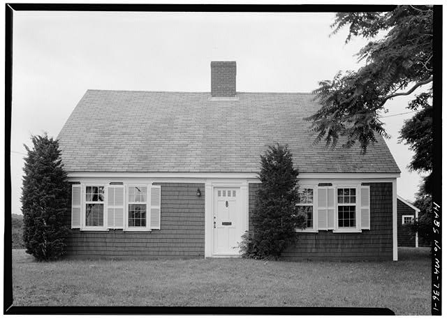 1.  VIEW FROM THE EAST - Nathaniel Swift House, U.S. Route 6, Eastham, Barnstable County, MA