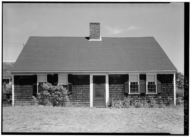 1.  SOUTH FRONT - Benjamin Collins House, South Pamet Road, Truro, Barnstable County, MA