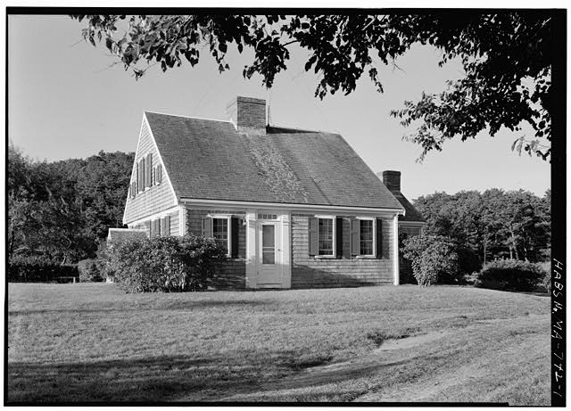 1.  VIEW FROM THE NORTHEAST - Jonathan Collins House, South Pamet Road, Truro, Barnstable County, MA