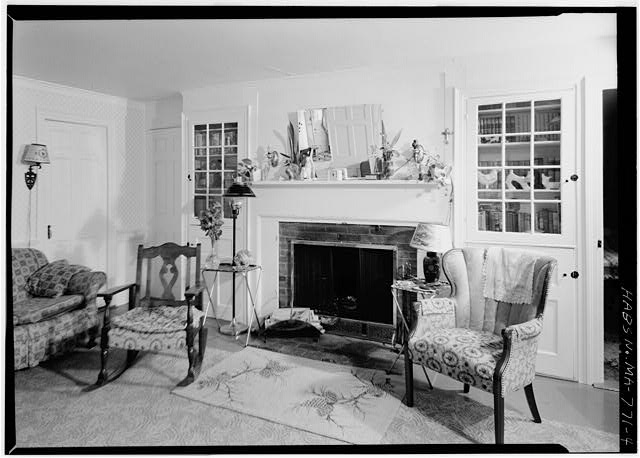 4.  KITCHEN FIREPLACE AND CORNER - William P. Snow House, South Pamet Road, Truro, Barnstable County, MA