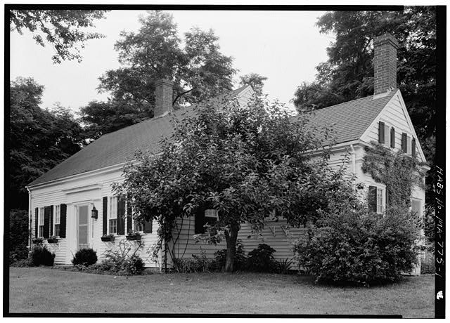 1.  VIEW FROM THE SOUTHEAST - Elnathan Higgins House, Pamet Point Road, Wellfleet, Barnstable County, MA