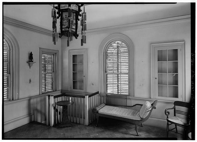 10.  INTERIOR, SECOND FLOOR, FROM THE NORTHWEST - Derby Summer House, Glen Magna Estate (moved from Elias Derby Farm, Peabody, MA), Danvers, Essex County, MA