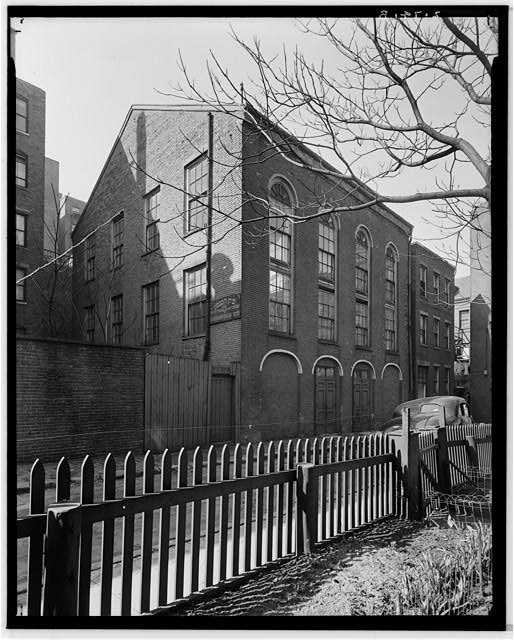 1.  Historic American Buildings Survey, Arthur C. Haskell, Photographer. April, 1937. (b) Ext- General view from Northeast. - Abolition Church, 8 Smith Court, Boston, Suffolk County, MA