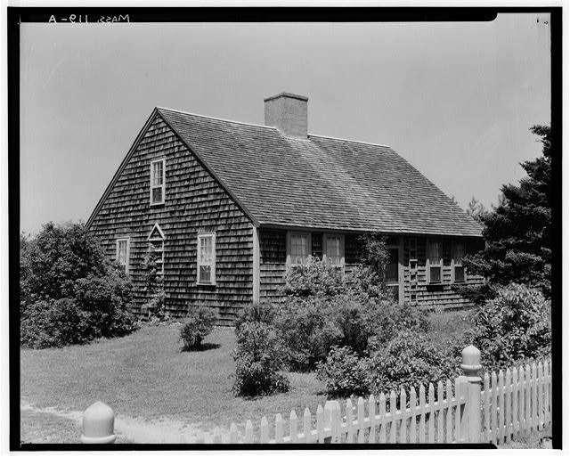 1.  Historic American Buildings Survey, Arthur C. Haskell, Photographer. 1935 (a) Ext--General view from southeast. - Jonathan Kendrick House, State Highway, South Orleans, Barnstable County, MA