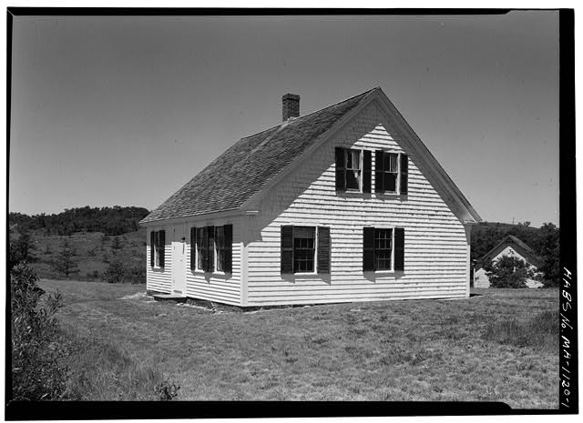 1.  VIEW FROM THE SOUTHEAST - David Stocker House, Holsberry Lane, Truro, Barnstable County, MA