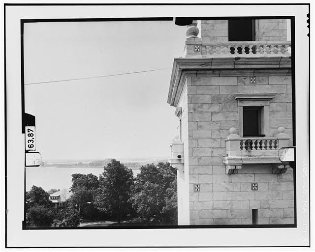 8.  NORTH ELEVATION, LEVEL 3 Copy photograph of photogrammetric plate LC-HABS-GS11-D-1981-N3R. - Dorchester Heights Monument, Thomas Park, Boston, Suffolk County, MA