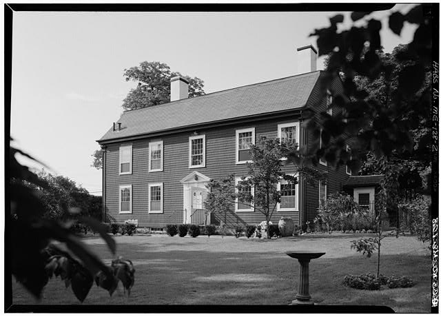 2.  SOUTH FRONT AND EAST SIDE - William Pepperrell House, State Route 103, Kittery Point, York County, ME