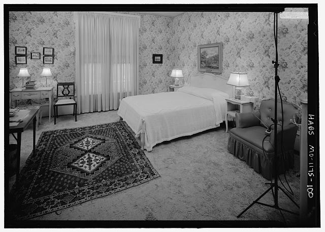 Northwest Bedroom (207), second floor, northeast corner from southwest corner - Harry S. Truman House, 219 North Delaware Street, Independence, Jackson County, MO