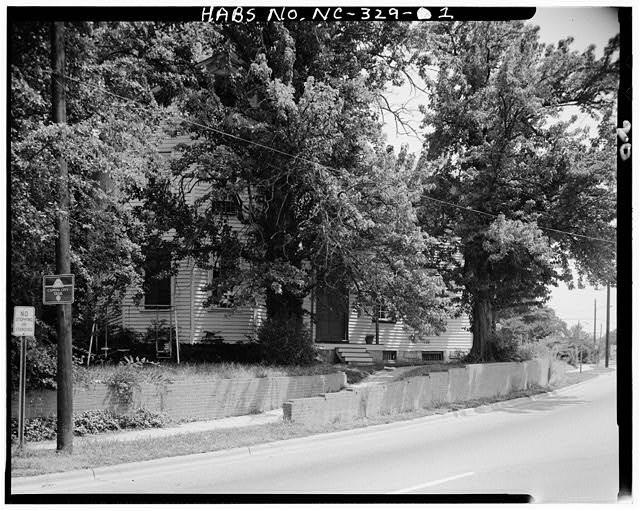 1.  FRONT VIEW, FROM SOUTHWEST - White-Holman House, 209 East Morgan Street, Raleigh, Wake County, NC