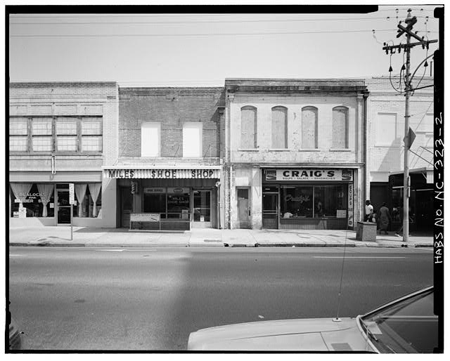 2.  WEST ELEVATION - Craig's Building, 221 South Wilmington Street, Raleigh, Wake County, NC
