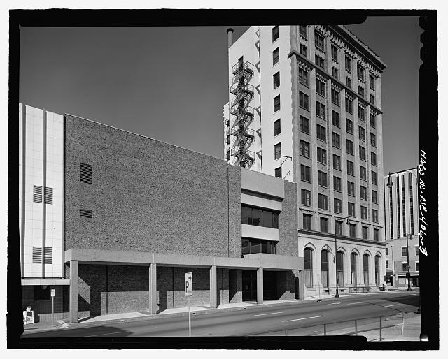 3/4 view of south and east side - Commercial National Bank, 20 East Martin Street, Raleigh, Wake County, NC