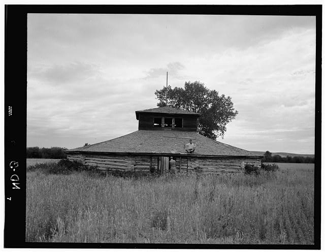 - Indian Dance Lodge, White Shield, McLean County, ND