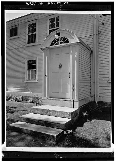 10.  NORTHEAST SIDE ENTRANCE - Wheeler House, Orford Street, Orford, Grafton County, NH