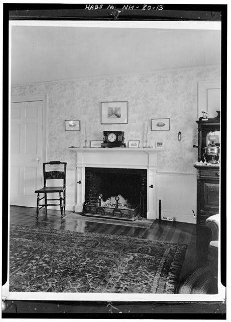 13.  FIREPLACE IN REAR PARLOR (DINING ROOM) - Wheeler House, Orford Street, Orford, Grafton County, NH