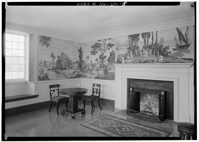 5.  FRONT PARLOR - Pierce Homestead, State Route 31, Hillsboro, Hillsborough County, NH