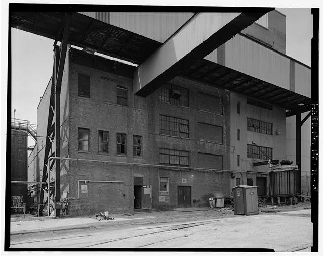 10.  D-6 (RIGHT), D-8 (CENTER), AND D-9 (LEFT) NORTH ELEVATIONS - Colgate & Company Jersey City Plant, Between 1931 Pierhead Line, Essex, York, & Montgomery Streets, Jersey City, Hudson County, NJ