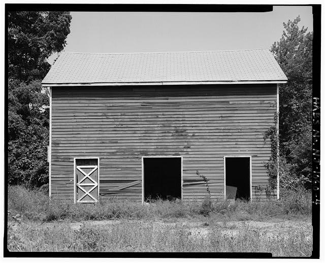 - David Pettit Barn, 1566 Burrsville (Squankum) Road, Bricktown, Ocean County, NJ