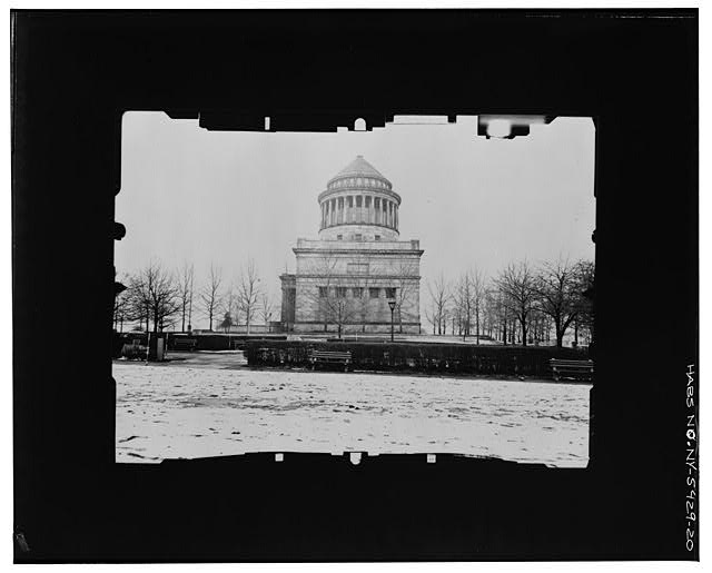 20.  EAST (SOUTH) FACADE--INCLINED Copy photograph of photogrammetric plate LC-HABS-GS05-T-2564-104R. - Grant's Monument, Riverside Drive & West 122nd Street, New York County, NY