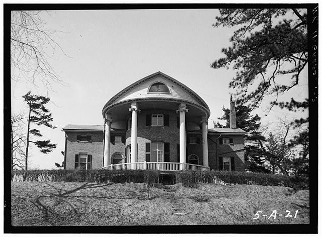 3.  Historic American Buildings Survey, Norman R. Sturgis, Photographer, April 1934, EAST ELEVATION. - Old Turtle House, Post Road, Greenport Center, Columbia County, NY