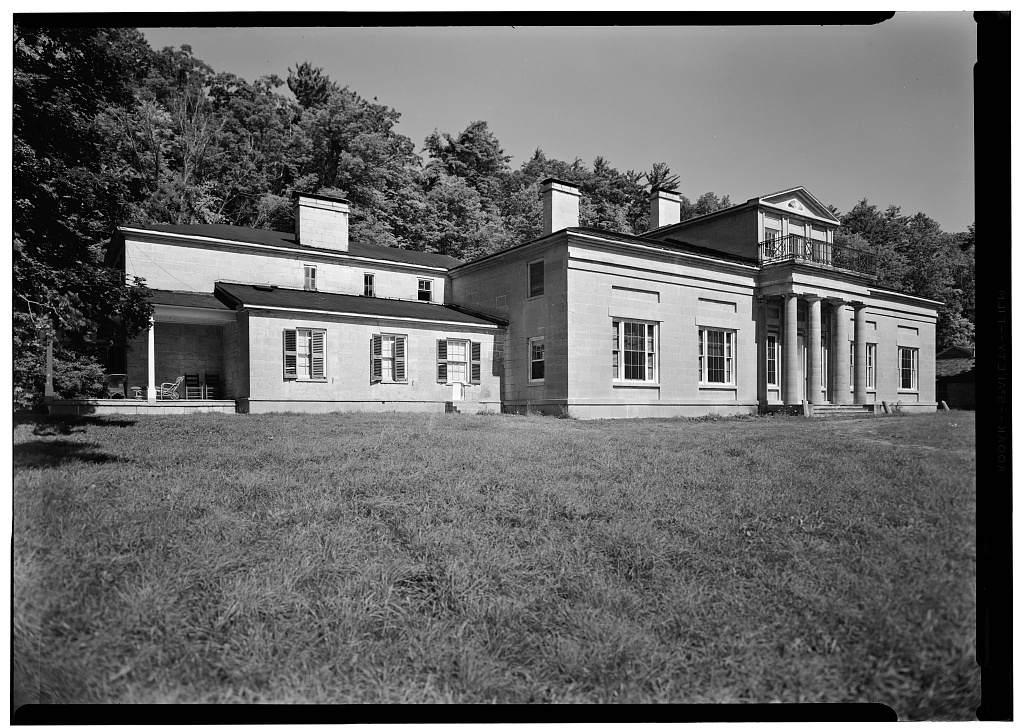 Hyde Hall, East Lake Road Vicinity, East Springfield, Otsego County, NY |  Library of Congress