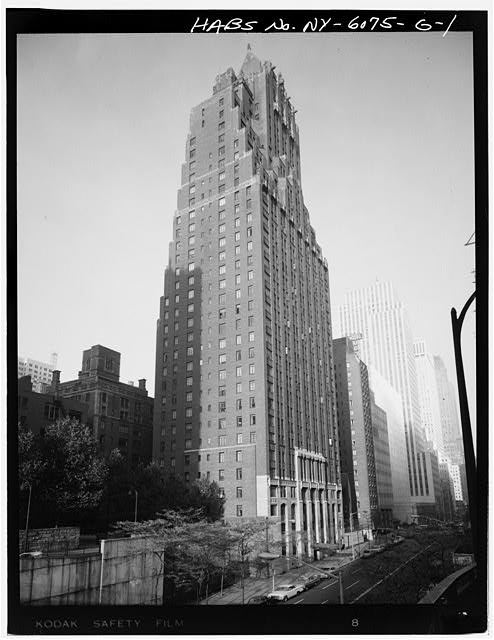 1.  PERSPECTIVE VIEW OF 42ND STREET ELEVATION - Tudor City Complex, Woodstock Tower, 320 East Forty-second Street, New York County, NY