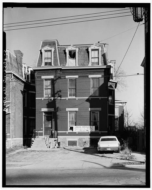 2.  SOUTH (FRONT) ELEVATION - Cooksey House, 856 Lincoln Avenue, Cincinnati, Hamilton County, OH