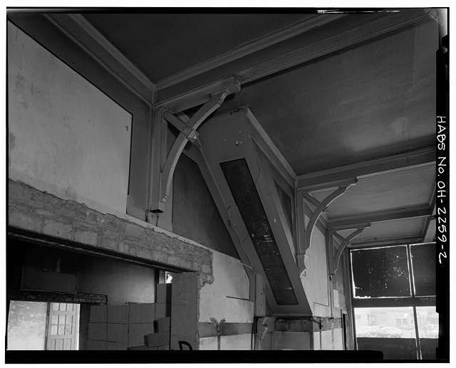 2.  INTERIOR DETAILS - Swiss Hall, 410-412 Monroe Street, Toledo, Lucas County, OH