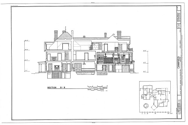 HABS OHIO,43-MENT,2- (sheet 12 of 14) - Lawnfield, 8095 Mentor Avenue (U.S. Route 20), Mentor, Lake County, OH