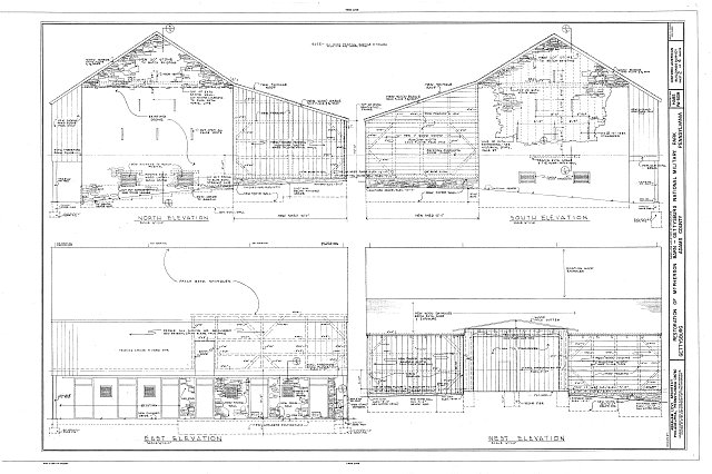 HABS PA,1-GET,10A- (sheet 2 of 4) - McPherson Barn, Gettysburg, Adams County, PA