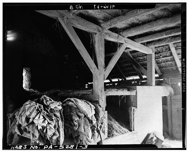 3.  FRAMING DETAIL - Barn, State Route 73 (Oley Township), Oley, Berks County, PA