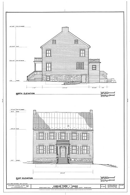HABS PA,1-GET.V,11- (sheet 4 of 4) - Cobean Farm, State Route 34 North, Gettysburg, Adams County, PA