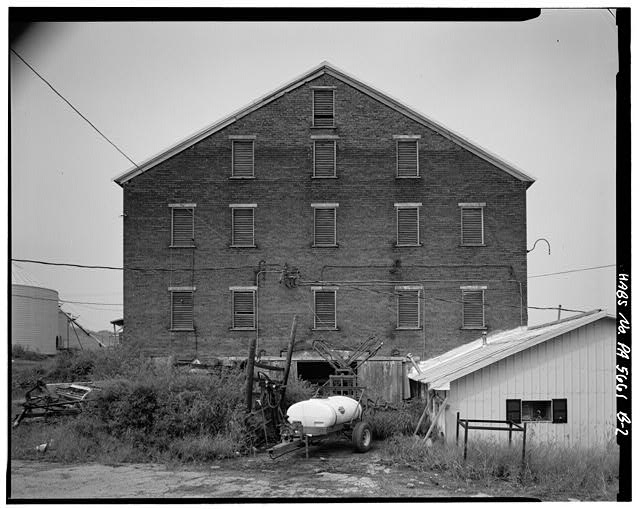 2.  SOUTH SIDE - Abraham Overholt Farm, Large Barn, Frick Avenue, West Overton, Westmoreland County, PA