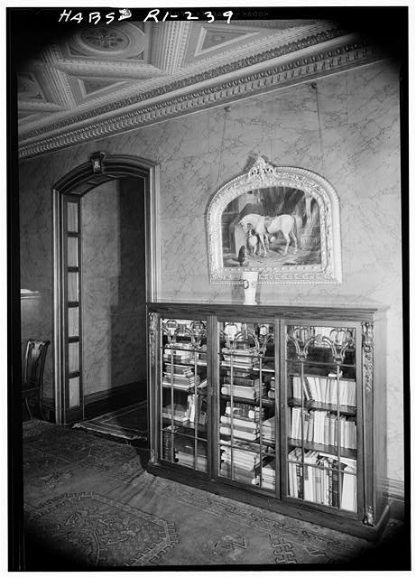 32.  Historic American Buildings Survey, Laurence E. Tilley, Photographer April, 1958 WALL AND DOORWAY IN SECOND FLOOR HALL. - Governor Henry Lippitt House, 199 Hope Street, Providence, Providence County, RI