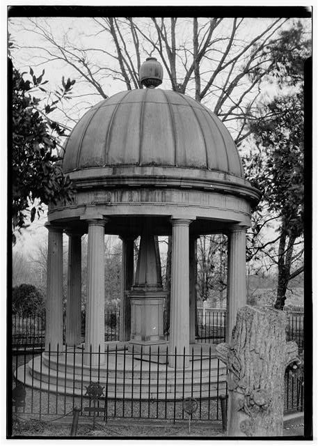 42.  Historic American Buildings Survey, W. Jeter Eason- Deputy District Officer, Photographer November 21, 1936 TOMB OF ANDREW JACKSON IN THE GARDENS. - The Hermitage, U.S. Highway 70 North (4580 Rachel's Lane), Nashville, Davidson County, TN