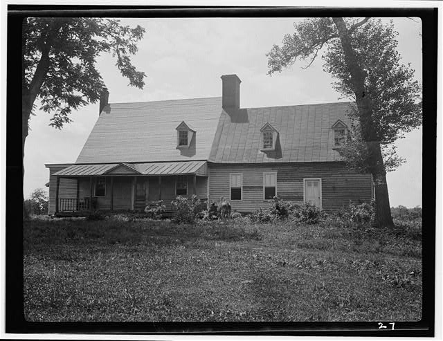 3.  Historic American Buildings Survey, Richard MacAllister, Photographer June 13, 1936 WEST ELEVATION (SOUTHWEST SIDE AND NORTHWEST REAR). - Whetstone Ranch House, Farm Road 81 Vicinity, Panna Maria, Karnes County, TX