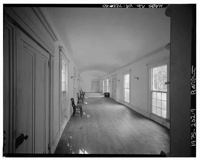 20.  INTERIOR, WESTERN HYPHEN (BALL ROOM) - Sherwood Forest, State Route 5 vicinity, Charles City, Charles City, VA
