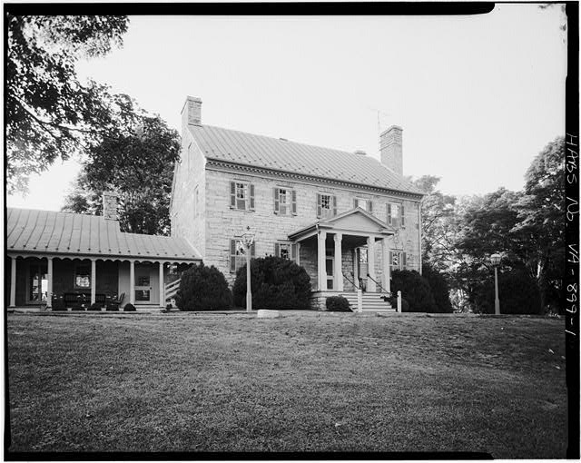 1.  SOUTHEAST FRONT - Stone House, State Route 687, Lexington, Lexington, VA