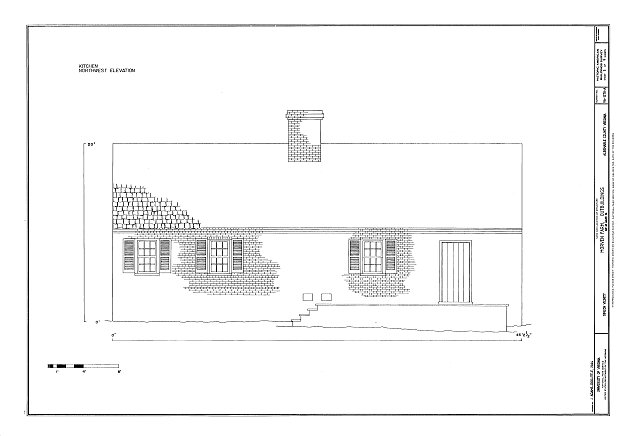 HABS VA-1378-A (sheet 5 of 9) - Morven Farm, Outbuildings, Off of Route 20, Simeon, Albemarle County, VA