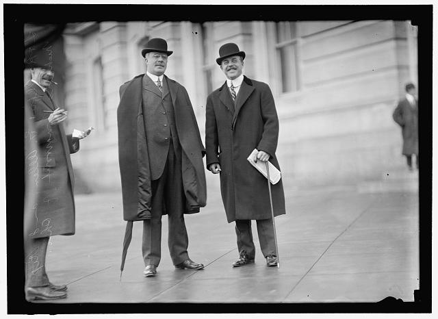 ALLEN, ALFRED GAITHER. REP. FROM OHIO, 1911-1917. WITH REP. NICK LONGWORTH